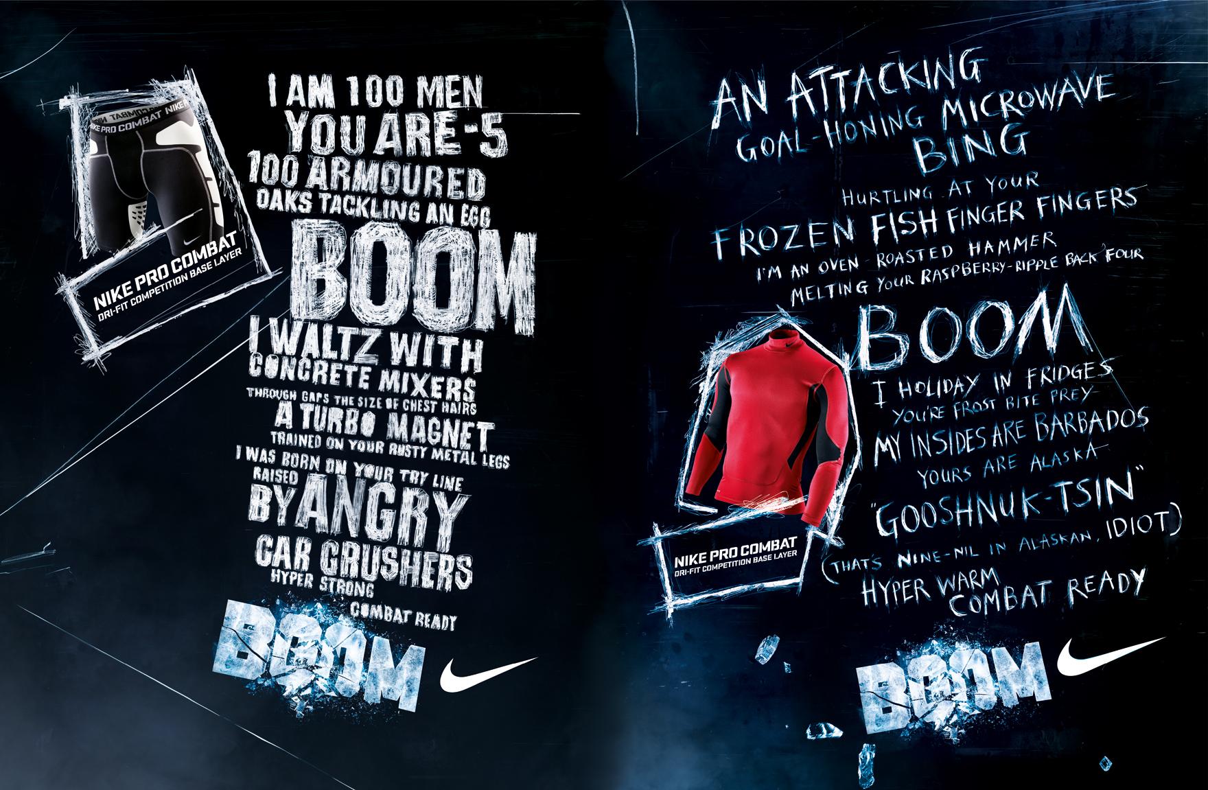 Nike | Pro Combat | Boom