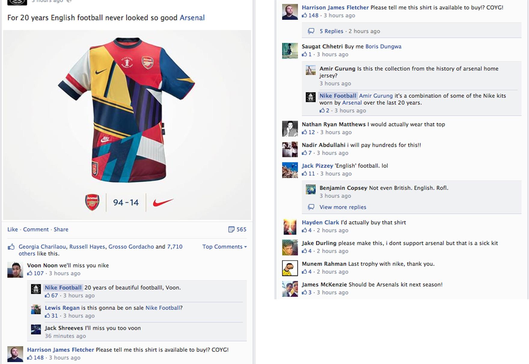Nike | Arsenal / Nike Legacy
